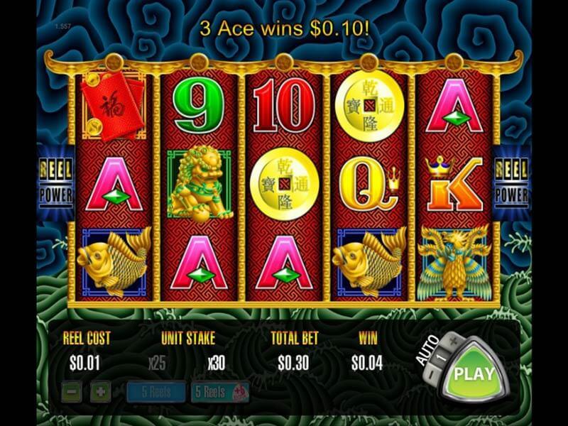 5 Dragons Slot Machine Demo